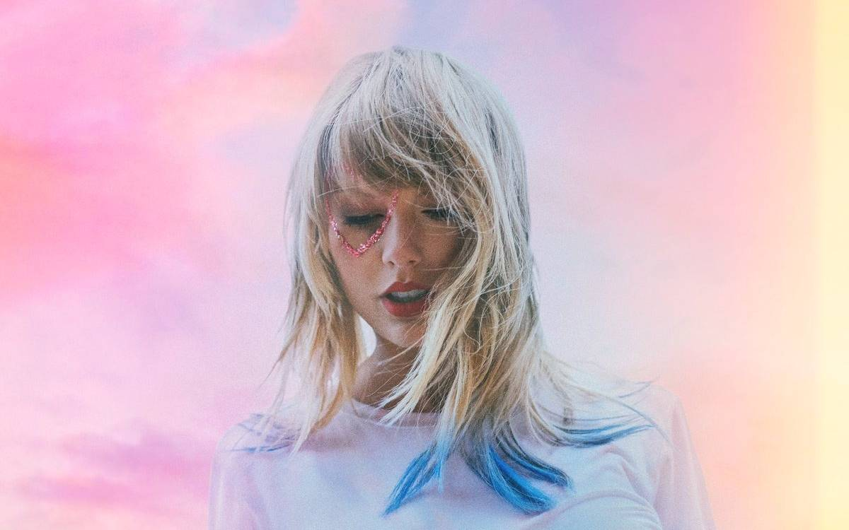 "Albumcover ""Lover"" von Taylor Swift"