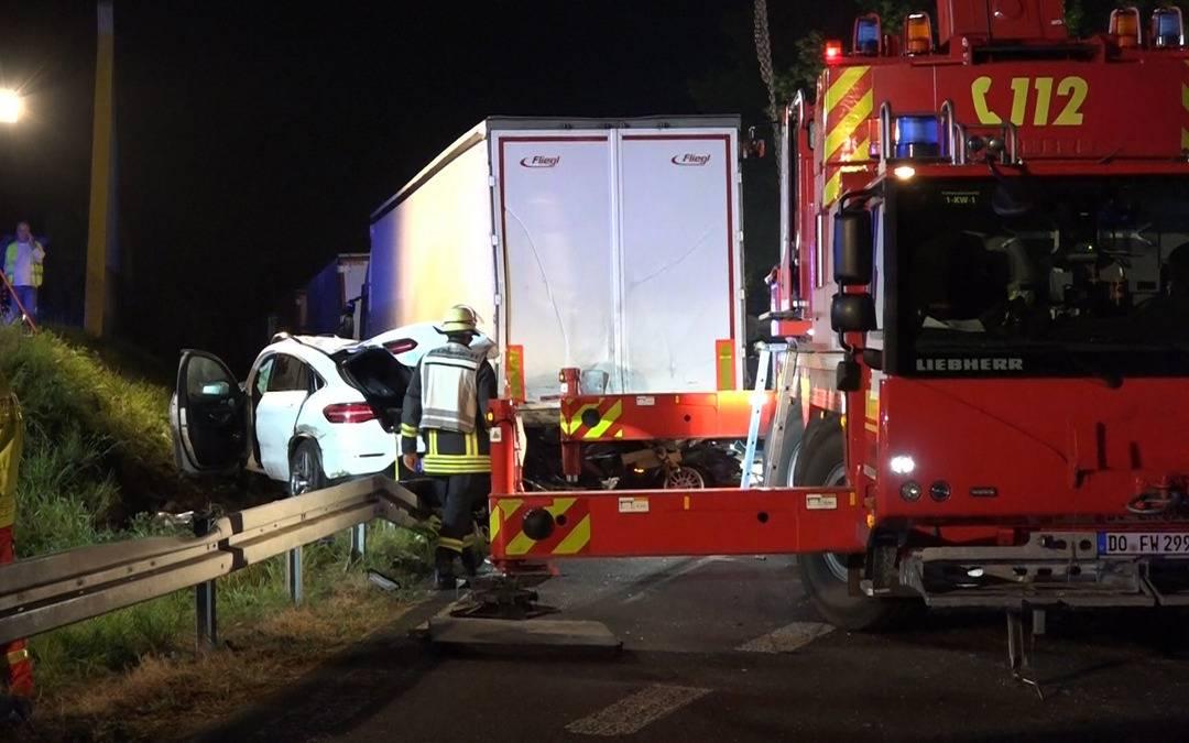 Unfall A2 Gestern Abend