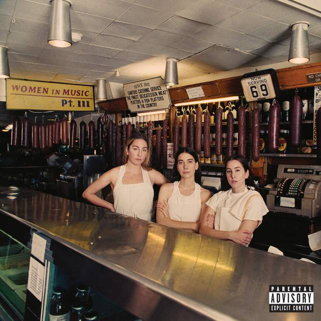 Album Cover Women in Music Part III von HAIM