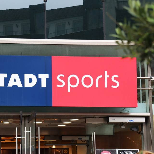 Karstadt Sports Filiale in Dortmund.