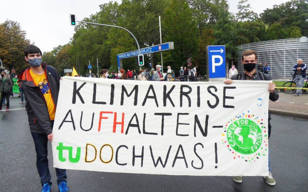 Fridays for Future 04.09.2020 Dortmund
