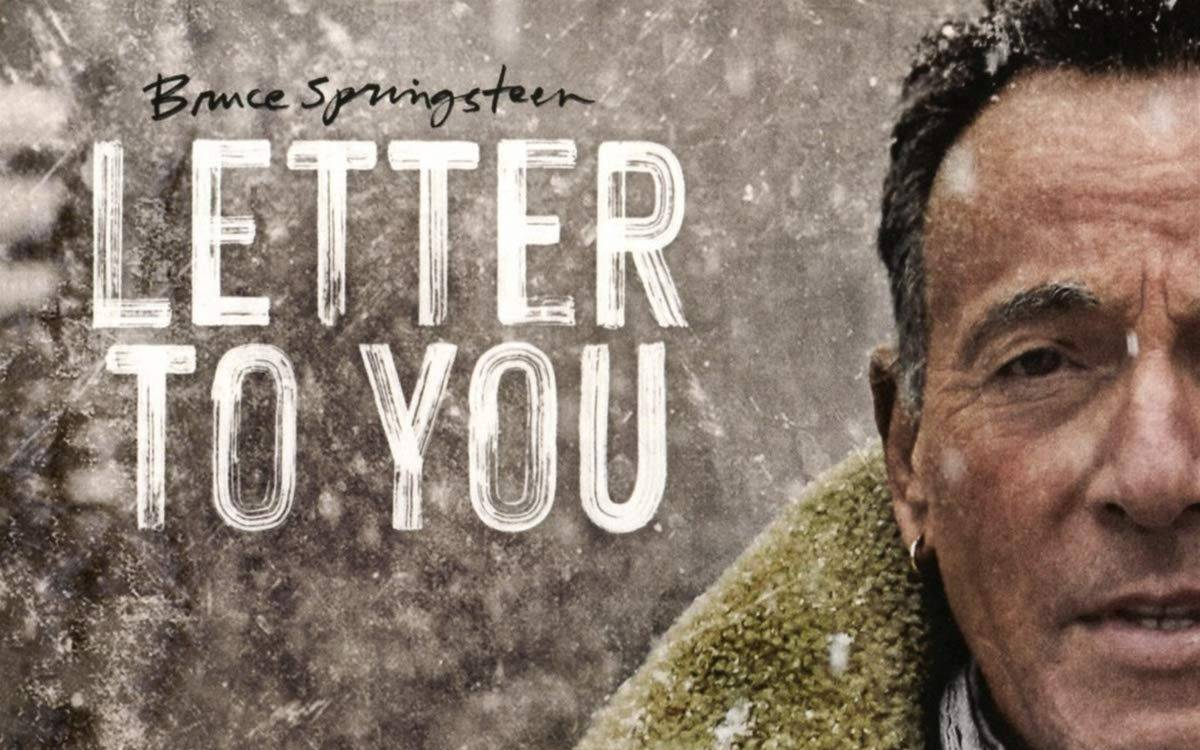 "Albumcover ""Letter To You"" von Bruce Springsteen."